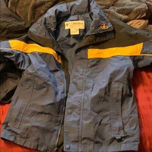 Columbia rain jacket/windbreaker